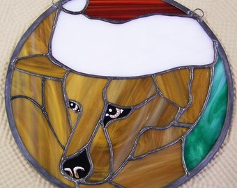 Stained Glass Animal Portraits