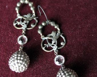 The love birds earrings