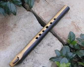 Key of Am FairyRing Flute - Dark Poplar Hardwood - Pentatonic Modes 1 & 4 Tuning