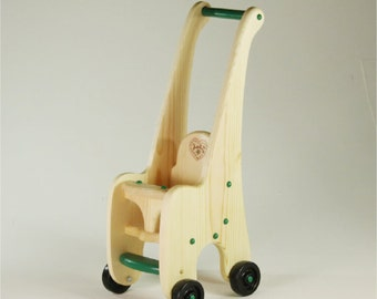 Toy Doll Stroller all wood