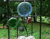 Sun Catcher Wrought Iron Arch Work Window Art
