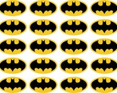 Batman vinyl decal set of 20