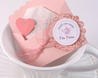 Tea Party Gift Tag & Cupcake Toppers - Until Our Next Tea Time