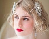 Wedding Hair Accessory, Bridal Head Piece, Gatsby Style Head Piece
