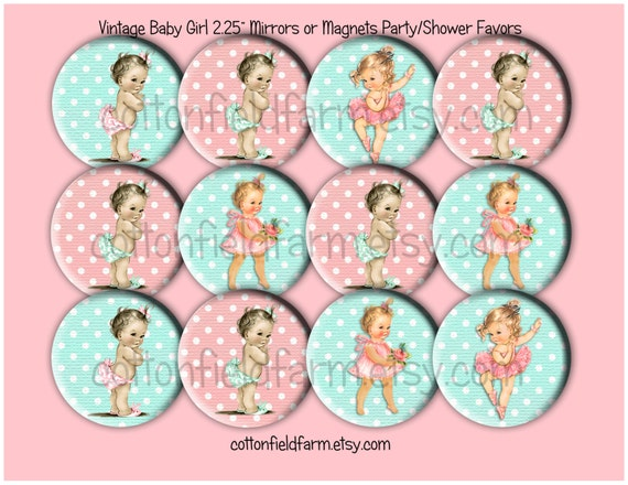 baby shower favors vintage retro baby girl images . inch, Baby shower invitation