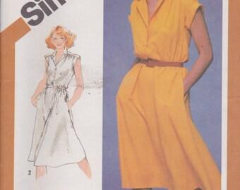 Simplicity 5122 Misses' Dress Size 14 Vintage UNCUT Pattern Rare and OOP