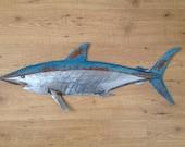 Shark Metal Fish Wall sculpture  Beach Coastal Tropical