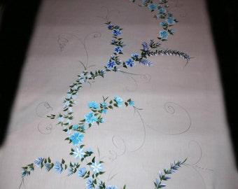 Custom Wedding Aisle Runner Hand Painted, DEPOSIT for any length and design