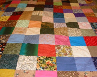 Patchwork Quilt~~ Twin Size