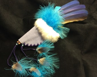 Joyful Smudging Feather -- 12.5 inches