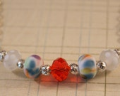 Summertime Lampwork Glass Necklace