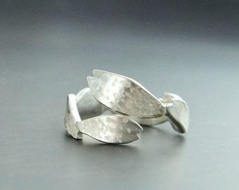 Cherry Blossom Ring, Sakura Wabi Sabi, Adjustable Japanese Jewelry