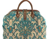 Mary Poppins Style Large Custom Carpet Bag