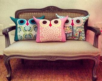 clear stock /Sale 60%/ gift /10 LARGE size owl pillows/custom colour and design/Express shipping/crazy sale/made to order