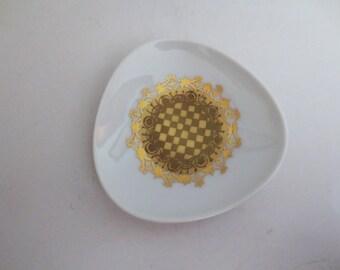 Rosenthal China- Sunburst Trinket plate or ring plate