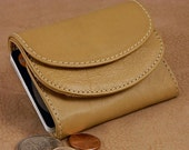 Womens Compact Leather Wallet