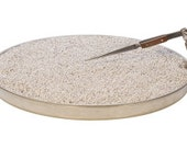 Extra Large Annealing Pan With Attachable Third Hand 12 Inch W/ Pumice