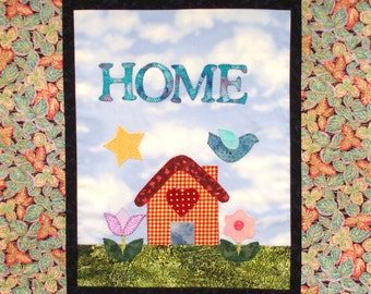 Home Unfinished Mini Wall Hanging