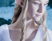 Elf Ears: Wood Elf -- handmade, latex ear tips, cosplay, costumes, Tauriel,  Zelda, Halloween, Legolas, Galadriel