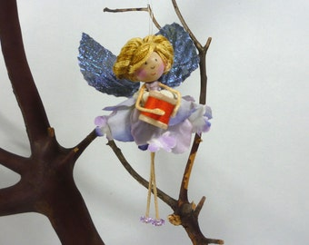 Sewing Fairy Ornament, Sewing Gift, Quilting Gift