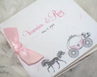 Fairytale Wedding Program 2