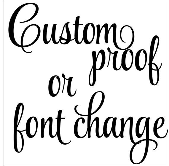 ADD-ON Custom Proof