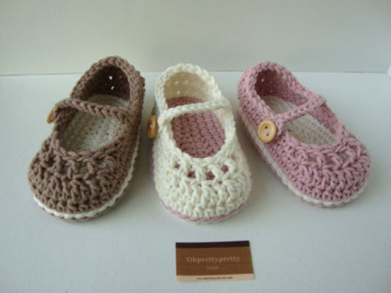 Free Crochet Pattern For Newborn Mary Jane Shoes