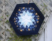 Winter night table topper