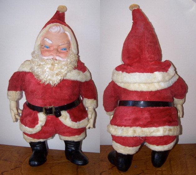 Santa Claus Toys : Vintage christmas santa claus plush doll my toy stuffed