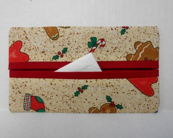 Christmas Traditions Tissue Cozy/Gift Card Holder/Party Favor/Wedding Favor
