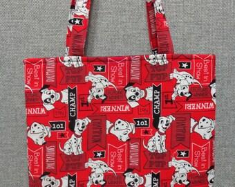 101 Dalmations Tote Bag/Book Bag/Preschool Tote