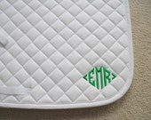 English All Purpose Saddle Pad with Diamond Monogram