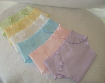 American Girl Doll Clothes/Bitty Baby/Half Dozen Diapers/READY TO SHIP