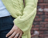 Maize pattern PDF (knit cardigan)