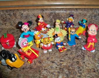 13 collectible toys
