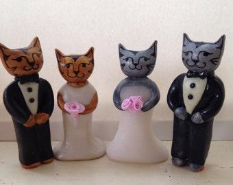 Custom Wedding Cake Topper for Sophia