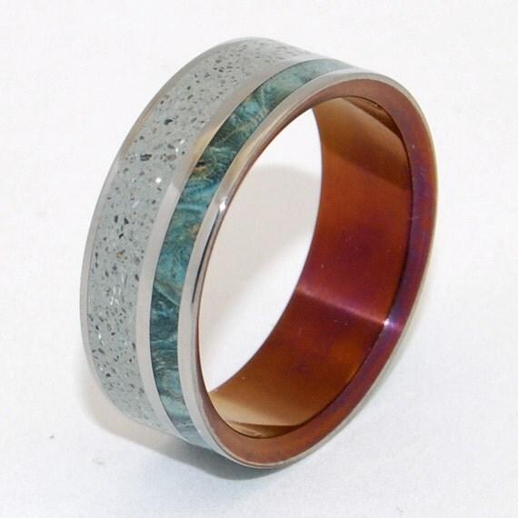 Wedding Rings Titanium Rings Wood Rings Mens Rings