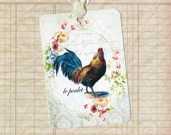 Tags - French Farmhouse - le poulet Tags