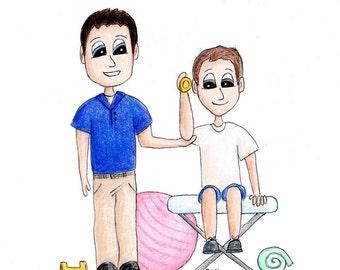 Custom Portrait Professional People Caricature