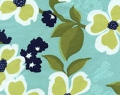 CLEARANCE SALE - Dogwood Bloom in Pond from Joel Dewberry Modern Meadow Collection - 1 Yard