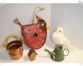 Gardening Decorations/Assorted Lot /Craft Supplies*