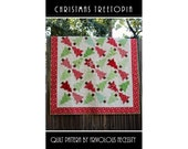 Quilt Pattern PDF Christmas Treetopia -- Fat Eighth Friendly
