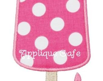 324 Popsicle Machine Embroidery Applique Design