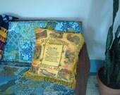 SALE!  romantic catskill mountains souvenir pillow