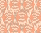 Art Gallery - Winged Collection by Bonnie Christine - Plumage in Apricot - Fat Quarter