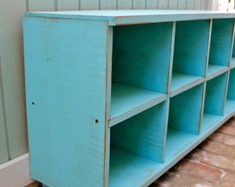 Wood - Entry - Organization - Cubby Bench - Storage Furniture - Entryway - Hall - Shoe Storage - Toys - Cubbies - Cubbyholes - Mud Room