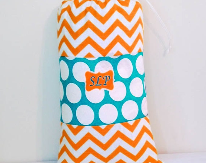 Laundry Bag, Monogrammed Laundry Bag, College Laundry, Summer Beach Bag, 16 x 24 Colorful Drawstring Bag, Over 48 patterns to choose from