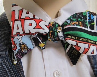 Star Wars Comic Strip Bow Tie