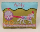 Personalized Princess Carriage Tooth Fairy Pillow