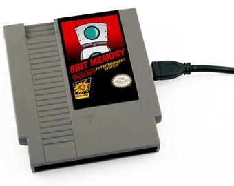 Custom Label NES Hard Drive - Your Custom Label! Any image, any game! USB 3.0